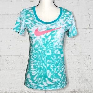 The Nike Tee Dri Fit Athletic Cut SZ S